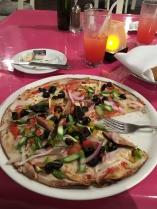 Veggie pizza!