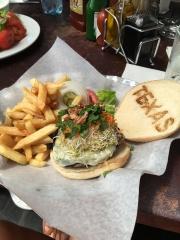 Mushroom burger!
