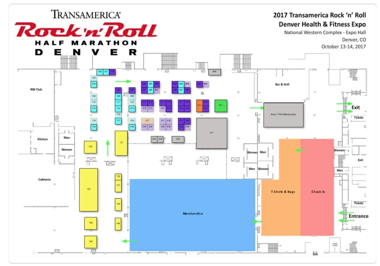 Denver Expo Map-1
